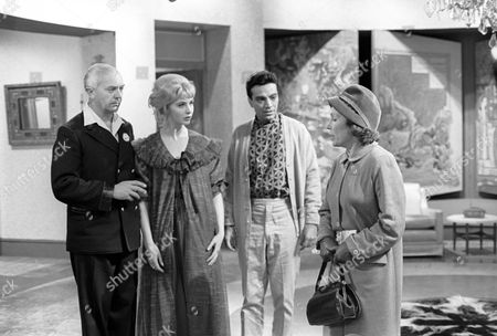 George A. Cooper, Nyree Dawn Porter, Zia Mohyeddin and Gretchen Franklin