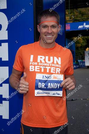 Editorial picture of ING New York City Marathon Celebrity Runners Bib Presentation, New York, America - 04 Nov 2011