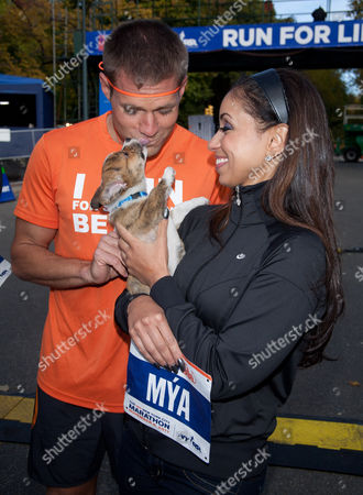 Dr. Andrew Baldwin and Mya with puppy