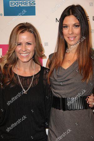 Trista Sutter and Jenna Morasca