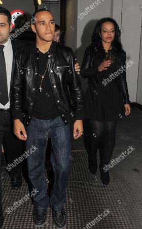 Editorial photo of Stars Leaving The Playboy Club, London, Britain - 05 Nov 2011