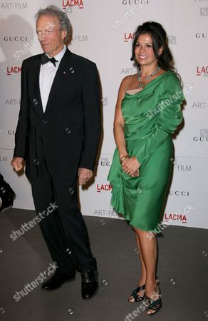 Clint Eastwood and wife Dina Eastwood