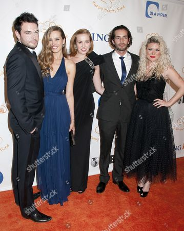 Editorial picture of 2011 Happy Hearts Fund Gala, New York, America - 05 Nov 2011