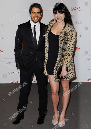 Eli Roth and Victoria Asher