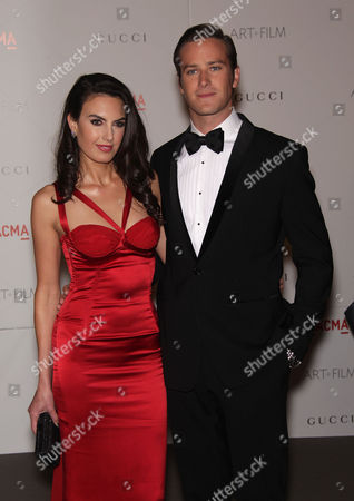 Elizabeth Chambers and Armand Hammer