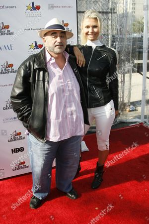 Stock Picture of Ken Davitian and Simona Brhlikova