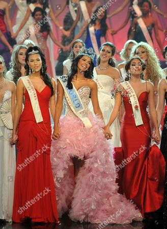 Editorial photo of Miss World Final, Earls Court, London, Britain - 06 Nov 2011