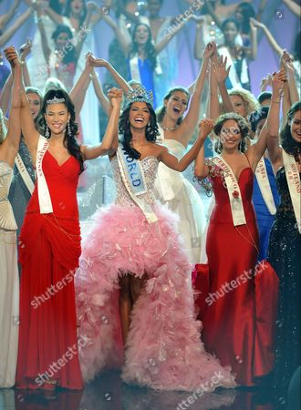 Editorial image of Miss World Final, Earls Court, London, Britain - 06 Nov 2011