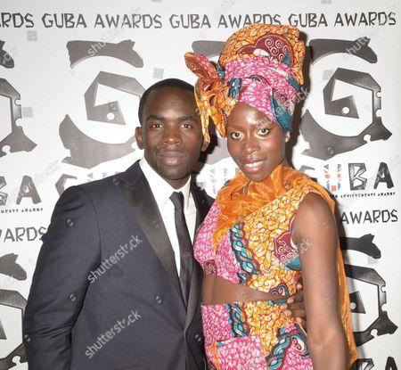 Editorial photo of Guba Awards, London, Britain - 06 Nov 2011
