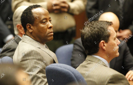 Dr. Conrad Murray and defence attorney Edward Chernoff