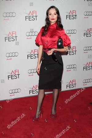 Editorial image of AFI Fest 2011 'Law Of Desire and Coriolanus', Film Premiere, Los Angeles, America - 07 Nov 2011