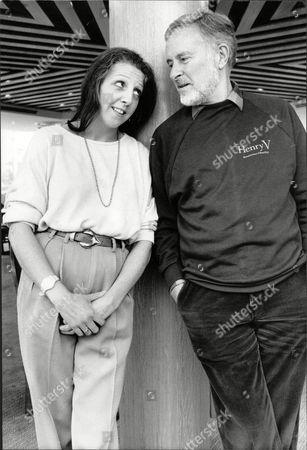 Actress Nichola Mcauliffe And Actor Alec Mccowen