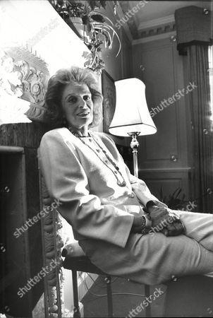 Editorial Stock Photo Of Melina Mercouri Greek Cultural Minister