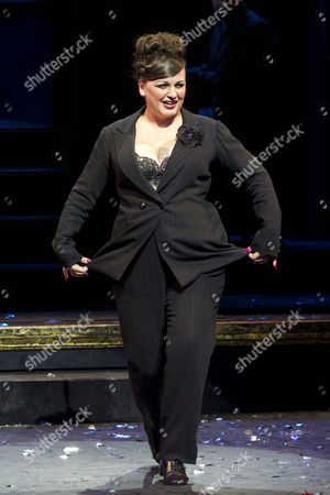 Jasna Ivir (Matron 'Mama' Morton) during the curtain call