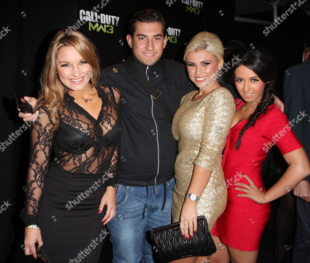 Sam Faiers, James Argent, Billy Faiers, and Peri Sinclair