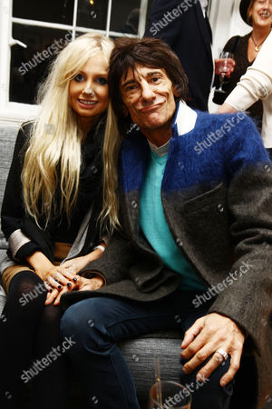 Ronnie Wood and new girlfriend Nicola Sargent