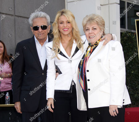 Editorial photo of Shakira honored with star on the Hollywood Walk of Fame, Los Angeles, America - 08 Nov 2011