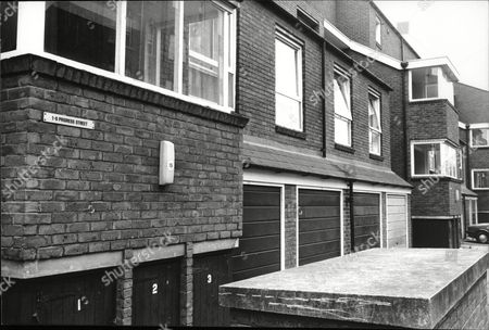 Stock Picture of (brinksmat) Brink's Mat Robbery Background No 6 Prioress Street Off Old Kent Road London Former Home Of Kathleen Mcavoy (mrs Michael Mcavoy)