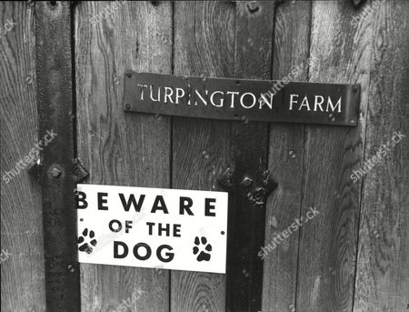 Editorial photo of (brinksmat) Brink's Mat Robbery Background Turpington Farm Southborough Lane Bromley Home Of Kathleen Mcavoy (mrs Michael Mcavoy)