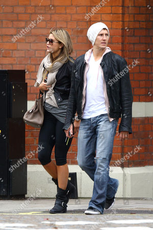 Holly Valance and Brendan Cole