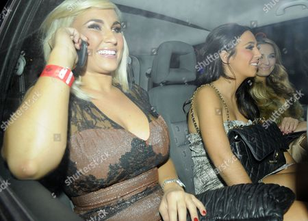 Billie Faiers, Peri Sinclair and Sam Faiers