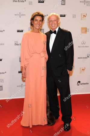 Willy Bogner and wife Sofia