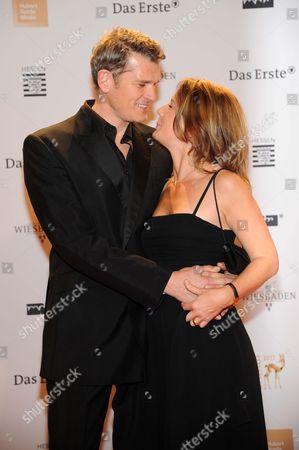 Goetz Otto and wife Sabine