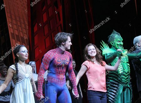 Editorial picture of 'SPIDER-MAN Turn Off The Dark' Musical, New York, America - 10 Nov 2011