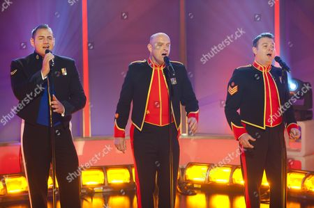 The Soldiers - Lance Corporal Ryan Idzi, Sergeant Major Gary Chilton, Sergeant Richie Maddocks