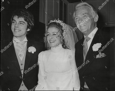 Richard Morant Marries Melissa Fairbanks At St Mary's Church Pictured Right Is Her Father Douglas Fairbanks Jnr