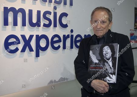 Editorial photo of Baron Wolman at the British Music Experience in north Greenwich, London, Britain - 10 Nov 2011