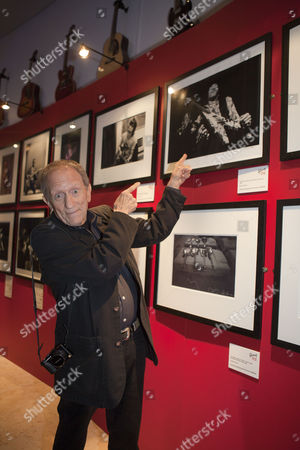 Editorial image of Baron Wolman at the British Music Experience in north Greenwich, London, Britain - 10 Nov 2011