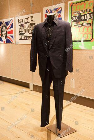 Editorial picture of Pop Culture: Rock and Pop Memorabilia sale at Christie's in South Kensington, London, Britain - 11 Nov 2011