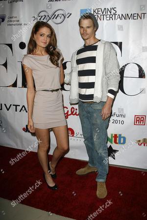 Katie Powers and Brendan Miller