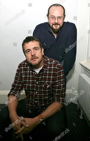 Stock Picture of Mark Billingham and Stuart MacBride