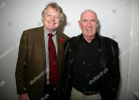 Stock Photo of Michael Dobbs and Quintin Jardine