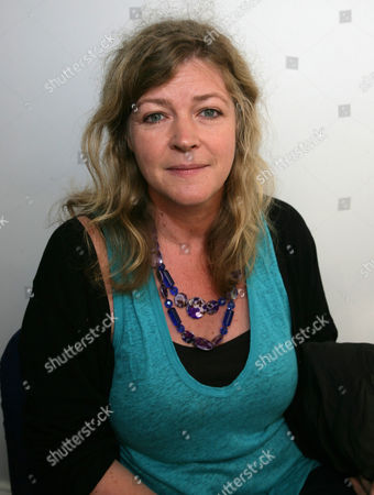 Stock Picture of Kate Summerscale promotes her book 'The Suspicions of Mr Witcher'
