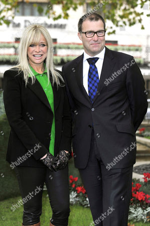 Jo Wood and Roland Fasel, General Manager of The Dorchester