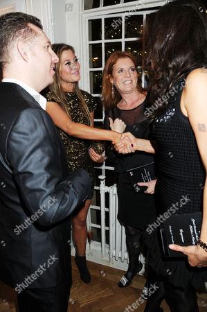 Nick Candy, Holly Valance, Sarah Ferguson Duchess of York and Slavica Ecclestone