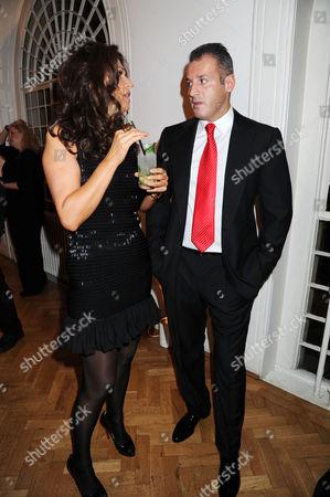 Slavica Ecclestone and Omar Khyami