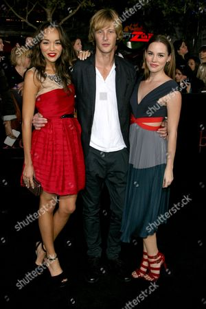 Ashley Madekwe, Gabriel Mann and Christa B Miller