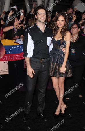 Editorial image of The Twilight Saga: Breaking Dawn - Part 1 film premiere, Los Angeles, America - 14 Nov 2011