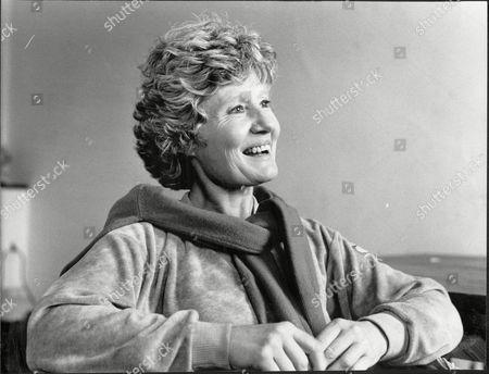 Editorial image of Playwright And Widow Of Actor Patrick Wymark Olwen Wymark