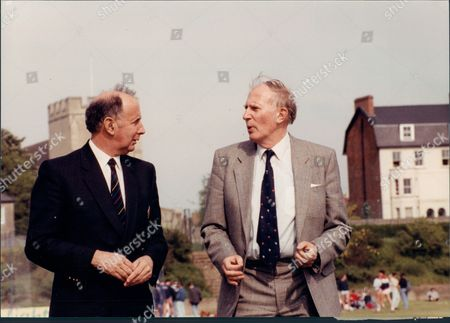 Editorial image of Athlete Sir Roger Bannister With John Landy