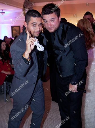 Wilmer Valderrama and Christopher Carney