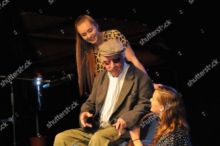 Editorial image of Clive Dunn performs his hit song 'Grandad', the Algarve, Portugal - 05 Nov 2011