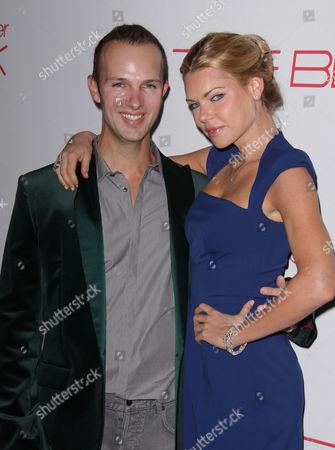 Stock Image of Darren Tieste and Sophie Monk