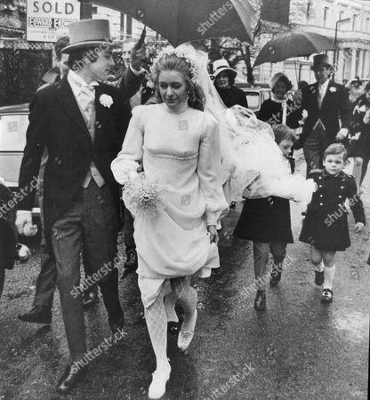 Richard Morant Marries Melissa Fairbanks At St Mary's Church South Kensington.