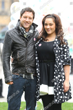 Matt Cardle and 18 year old Shereece Marcantonio a sex education campaigner