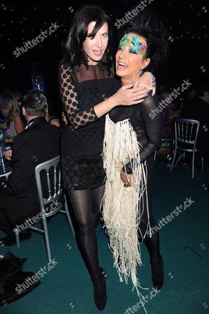Editorial photo of CLIC Sargent Fantasy Ball 2011, 'A Masquerade Affair' at Supernova, Embankment Gardens, London, Britain - 16 Nov 2011